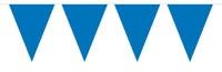 Vlaggenlijn Effen - Blauw