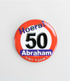 Button klein - Abraham