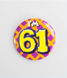 Button klein - 61