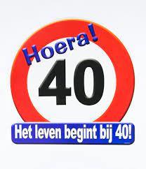 Huldeschild - Verkeersbord 40