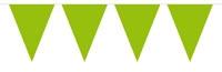 Vlaggenlijn Effen - Groen