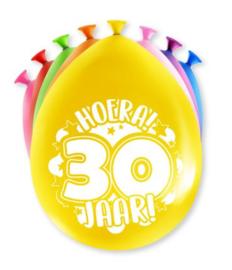 Assorti Ballon - 30 Jaar