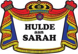 Huldebord Sarah kroonschild
