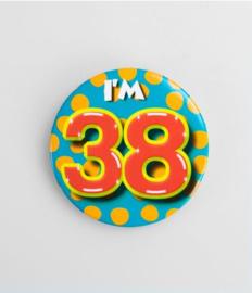 Button klein - 38