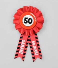 Party Rozet - 50 Sarah
