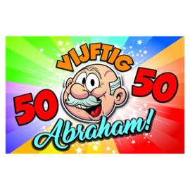 3D Schild - Abraham