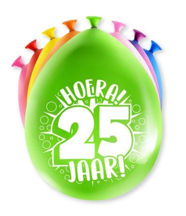 Assorti Ballon - 25 Jaar