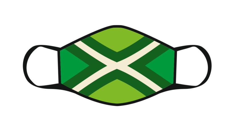Mondkapje Achterhoekse vlag