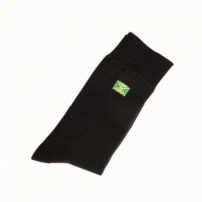 Achterhoekse sokken - Zwart Maat 41-46