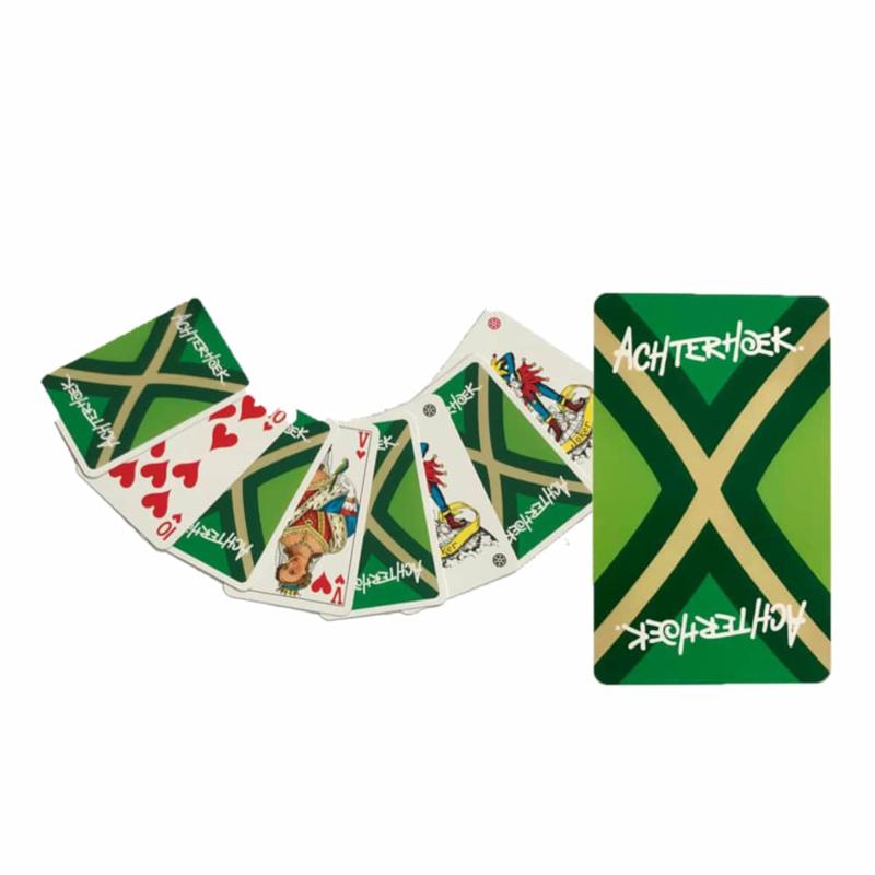 Pakje speelkaarten met de Achterhoekse vlag