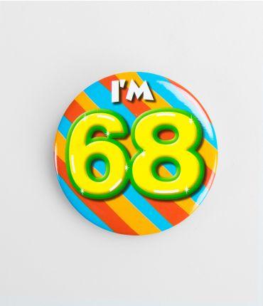 Button klein - 68