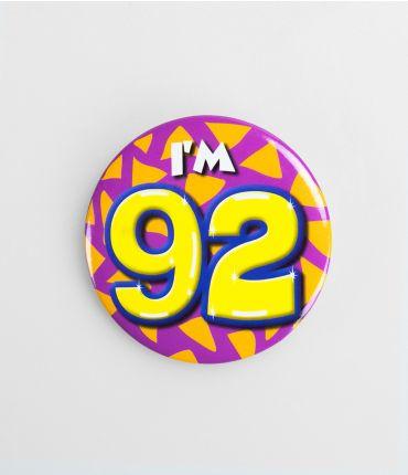 Button klein - 92
