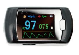 Saturatiemeter Contec CMS50E voor continue meting
