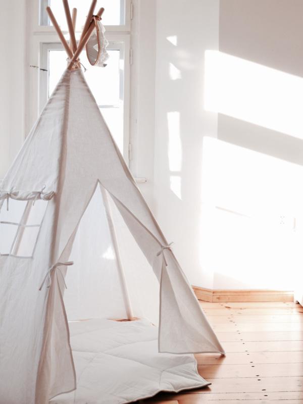 Tipi Tent 'Classic' Gold Dots | ALLE TIPI TENTEN | Deugniet