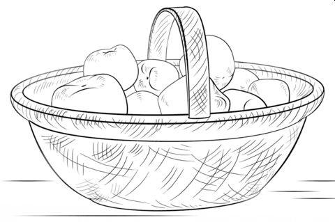 Bio Eieren Aardappelen - Uien - Appels