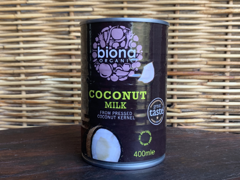 Kokosmelk in blik - Biona