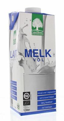 Bio volle houdbare melk (1 liter) Landgoed