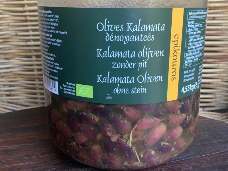 Bio Kalamata OLIJVEN in olijfolie en kruiden