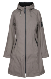 Softshell Raincoat 37L Dark Ash van Ilse Jacobsen