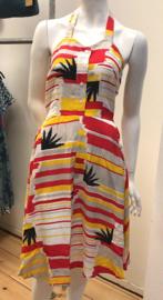 Candy Dress Palm Stripe van Pretty Vacant