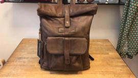Messenger Backpack Tan van Sticks & Stones