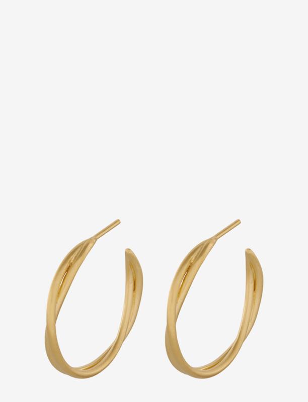 Paris Hoops Goldplated Silver van Pernille Corydon