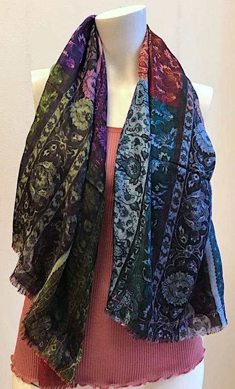 Zijden shawl van Silk Route