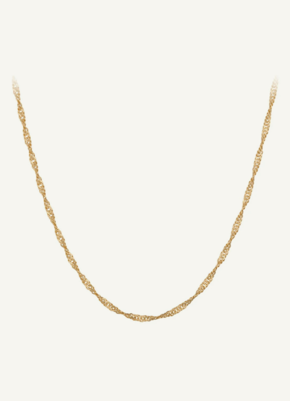 Necklace Goldplated Silver van Pernille Corydon