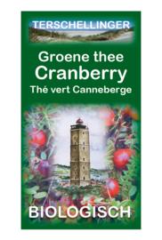 Groene thee cranberry biologisch