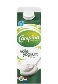 Campina volle yogurt