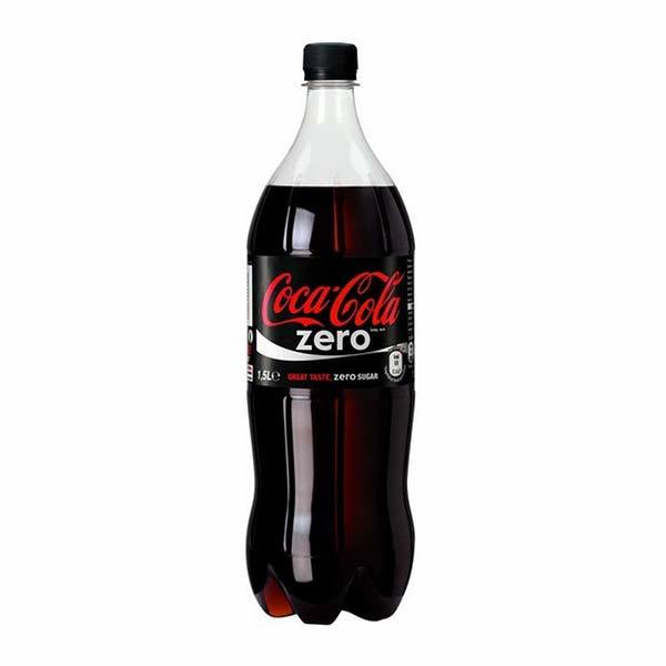 Coca-Cola Zero Sugar 1,5 L PET Fles