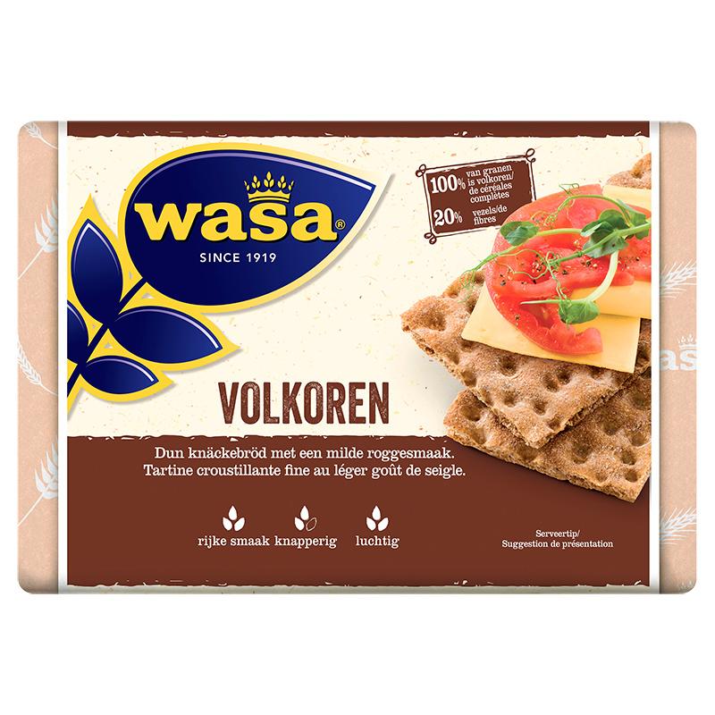 Wasa volkoren crackers