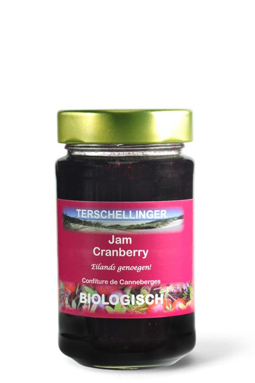 Biologische cranberry jam