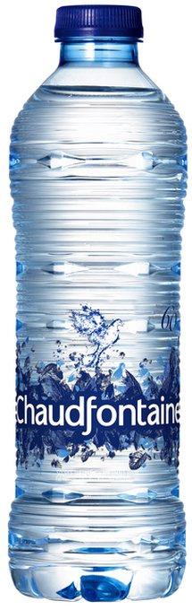 Water Chaudfontaine blauw petfles 0.50l