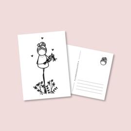 Postkaart - Zomaar (5 stuks)