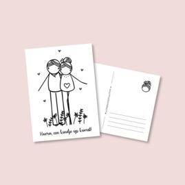 Postkaart - Zwangerschap (5 stuks)