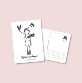Postkaart - Vierdaagse Kanjer (5 stuks)