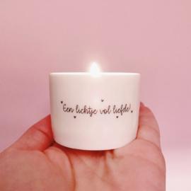 Een lichtje vol liefde - Engel (4 stuks)