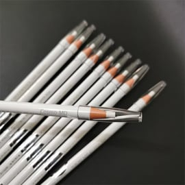 Coloured Soft Cosmetic Art - Pencil - Wit - 1 Stuk