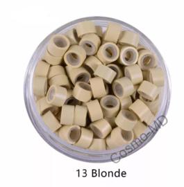 Microringen - Licht  Blond - 250 Stuks