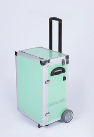Luxe ambulante pedicure koffer - Munt Groen