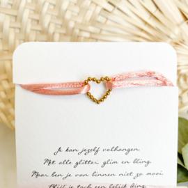 """Armband """"Satin Heart"""""""