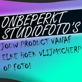 Onbeperkt studiofoto's