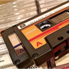 7 dingen die je kunt doen met je verzameling cassettebandjes
