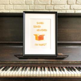 Stevie Wonder - Signed, sealed, delivered