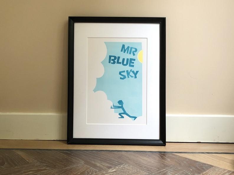 illustratie Mr Blue Sky
