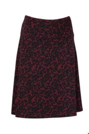 ZILCH Skirt Wide Leaves Port