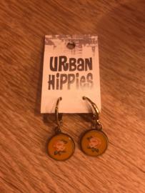 Urban Hippies Polly Honey & Peach Flower