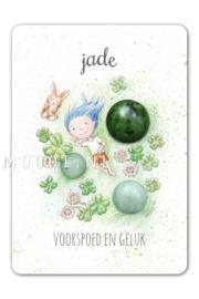 MOOQI - Ansichtkaart Jade