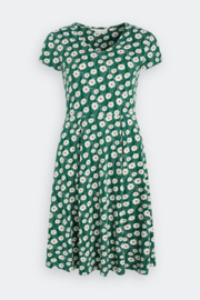 Seasalt Pier View Dress Daisy Stem Watson Green